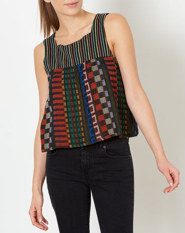 Dahlia Top in Fiesta