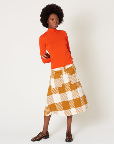 Maisie Skirt in Clove