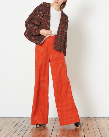 Summit Cardi in Brandy