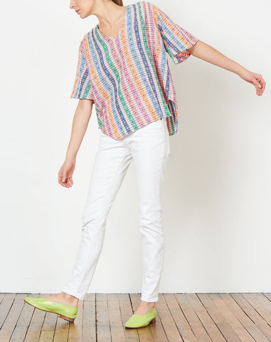 Vega Blouse in Swell