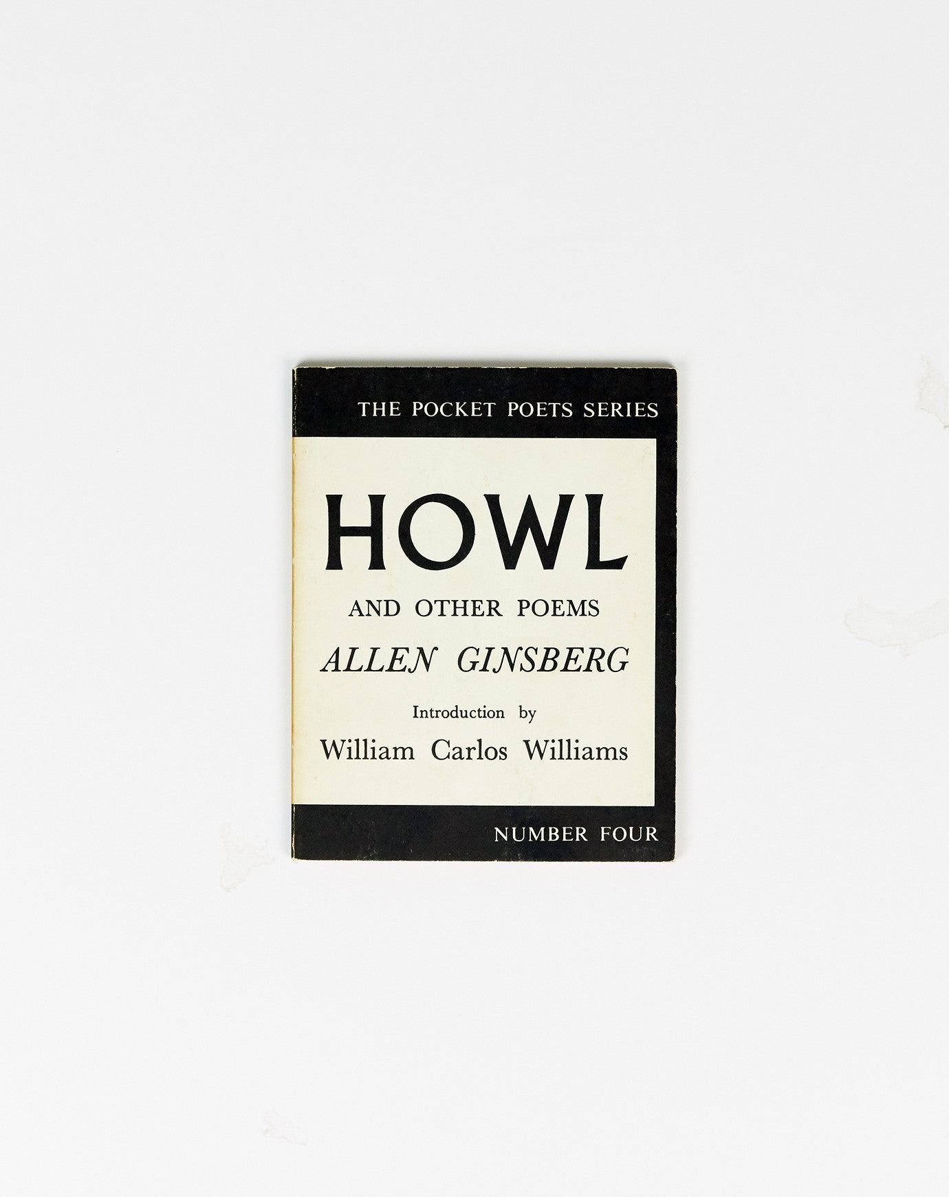 Howl and Other Poems by Allen Ginsburg