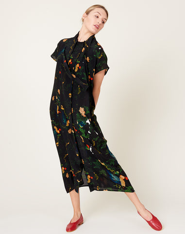 Shawly Big Dress in Print B+BB
