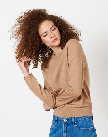 Savannah Sweater in Beige