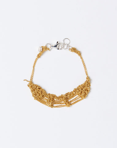 Bare Frame Bracelet in Gold