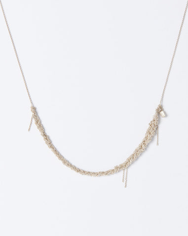 The Skinny Necklace in Silver