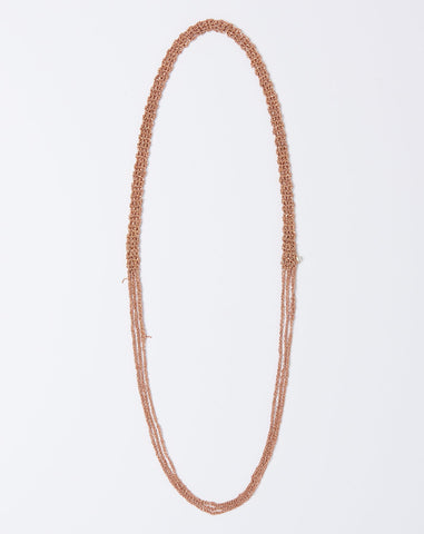 The Slim Necklace in Rose Gold