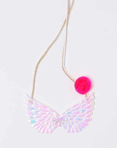Pegasus Necklace in White