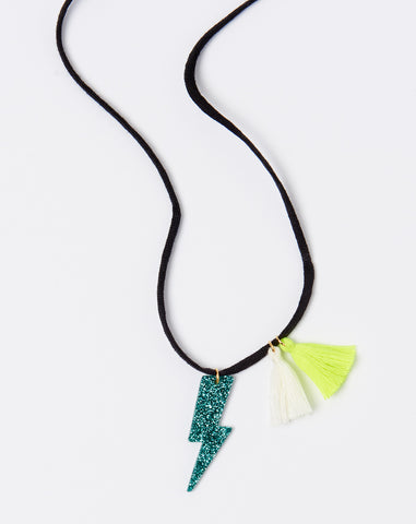 Tracey Necklace in Green