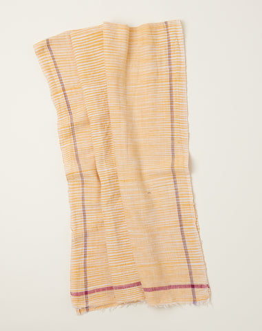 Space Dye Towel in Yellow