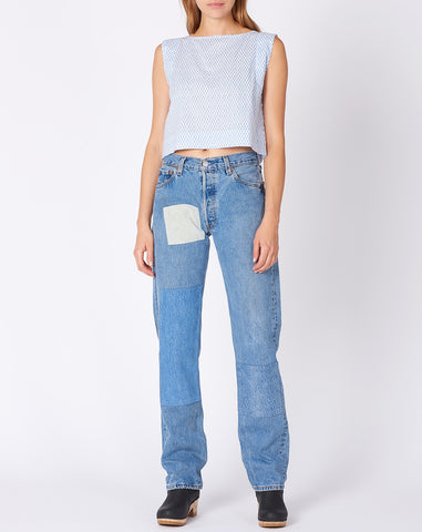 No. 4 Vintage Levi's 501 in Faded Indigo