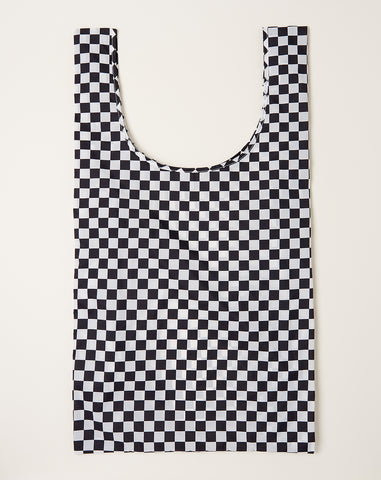Big Baggu in Black Checkerboard