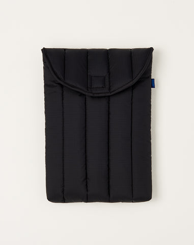 Puffy Laptop Sleeve in Black