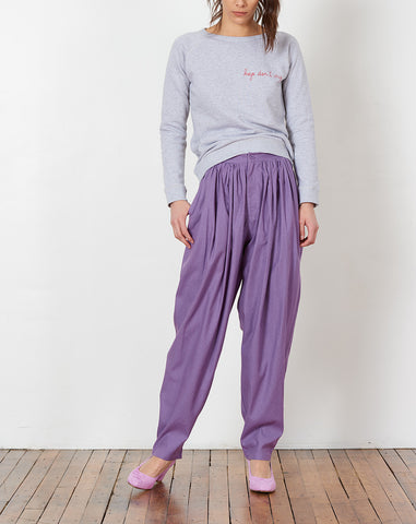 Isha Pants in Purple
