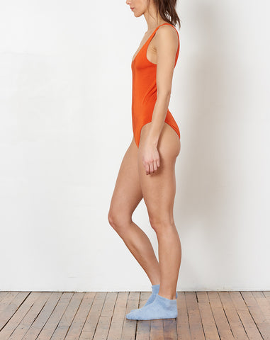 Palma Swimsuit in Fire Red