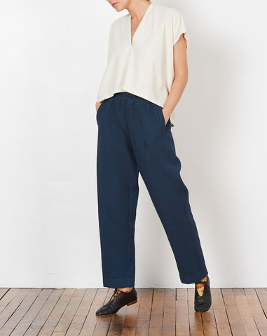 Dual Canvas Pant in Midnight