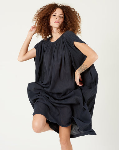 Mont Blanc Dress in Faded Black