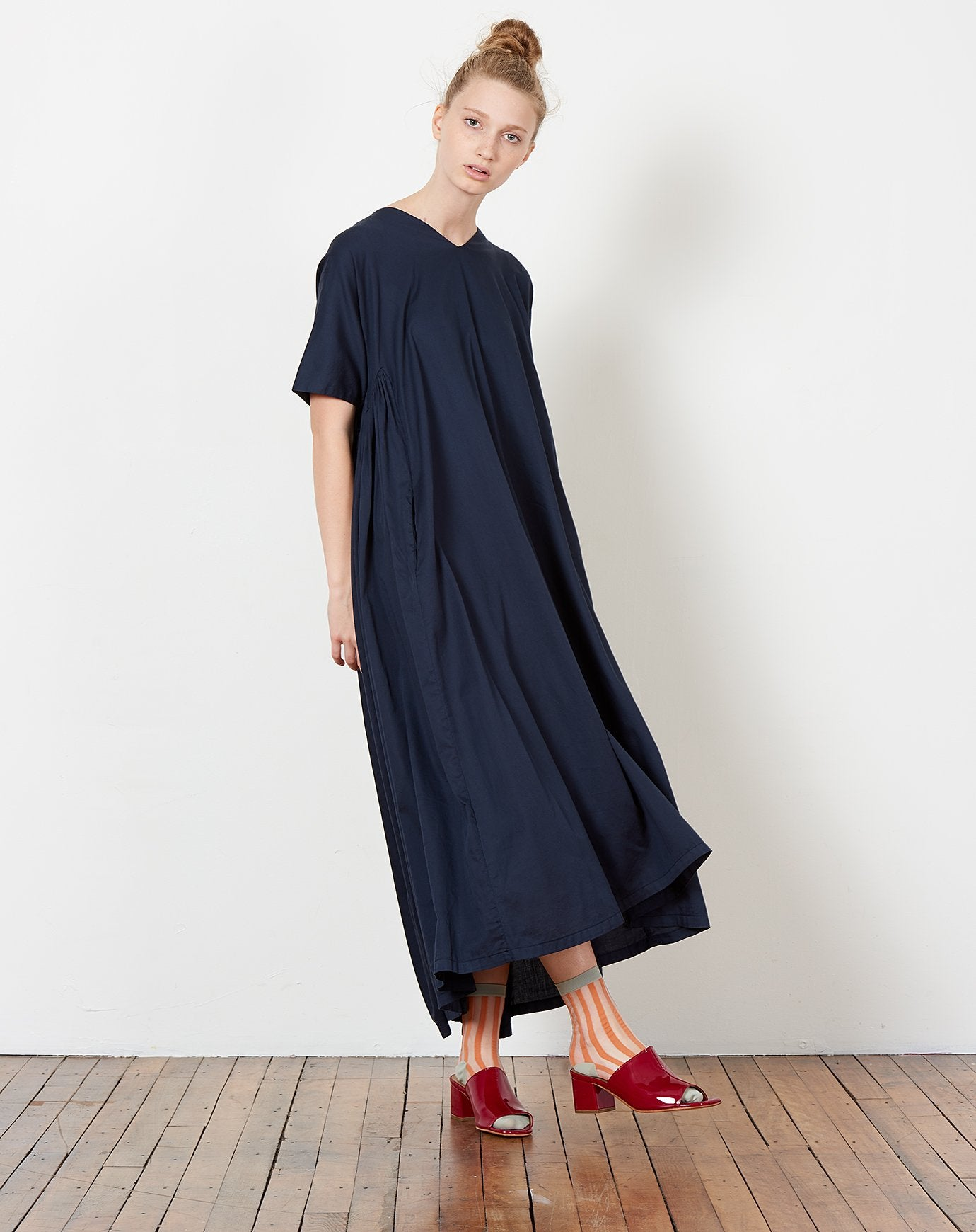 87002df4a5f ... Petal Dress in Dark Navy. Black ...