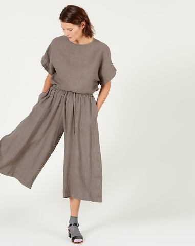 Wide Cullotes in Grey