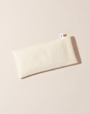 Cashmere Aromatherapy Eye Pillow in Cream