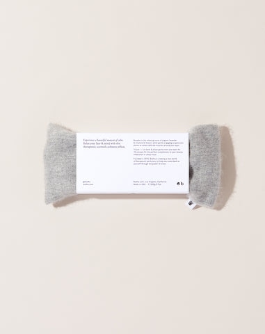 Cashmere Aromatherapy Eye Pillow in Marle