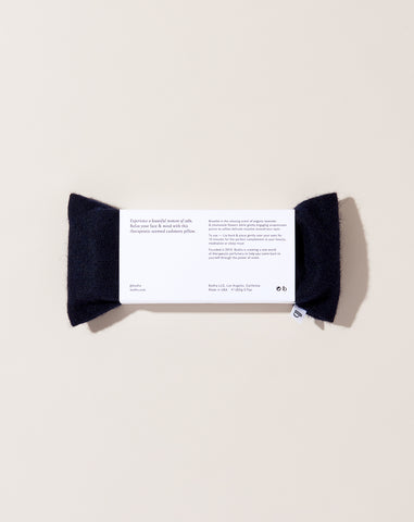 Cashmere Aromatherapy Eye Pillow in Midnight