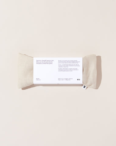 Linen Aromatherapy Eye Pillow in Natural