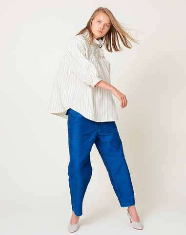 Claire Top in Ticker Stripe