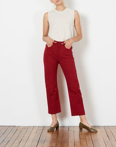 Joni Jean in Crimson
