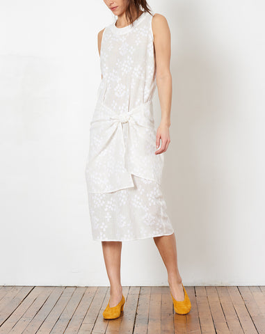 Mara Dress in Indian Jacquard Gauze