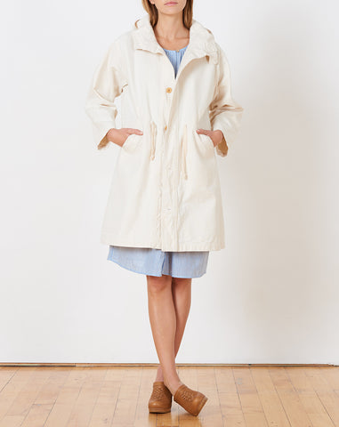 Robertson Coat in Japanese Cotton Canvas