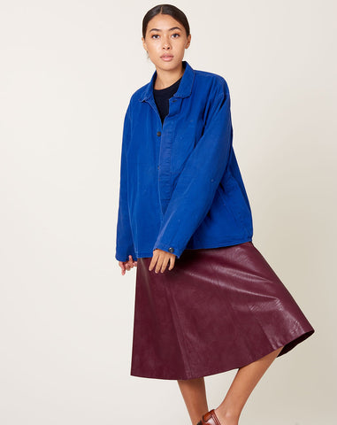 Chore Coat in Distressed Royal