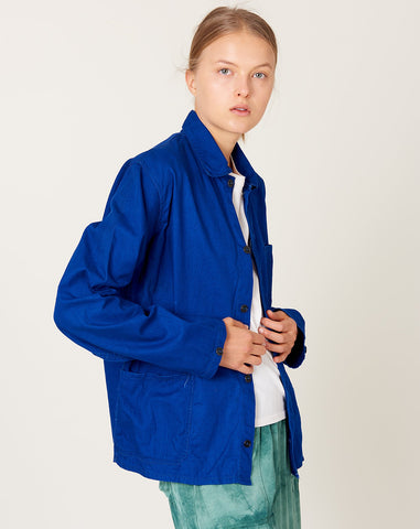 Chore Coat in Bright Indigo