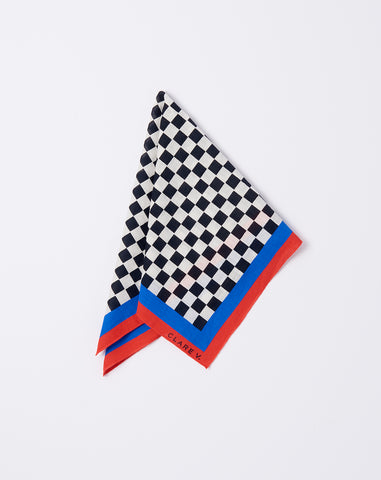 Checker Print Bandana