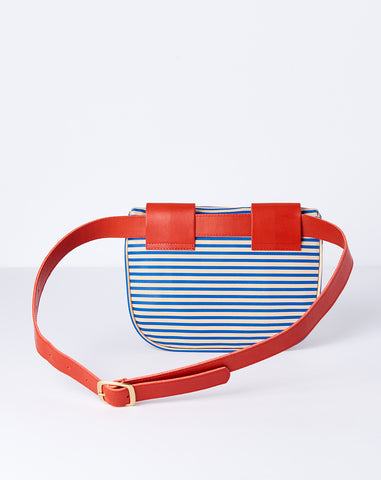 Fannypack Suprême in Blue Bather Stripe