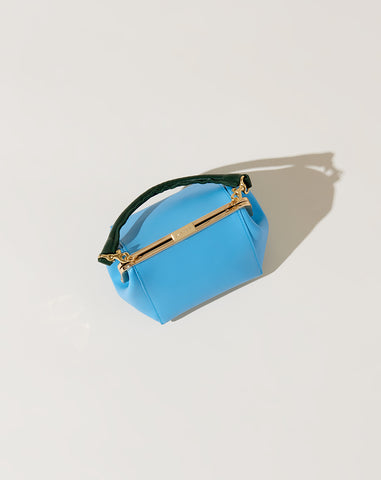 Le Box Bag in Sky Blue