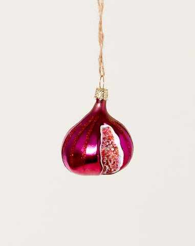 Orchard Fig Ornament in Purple
