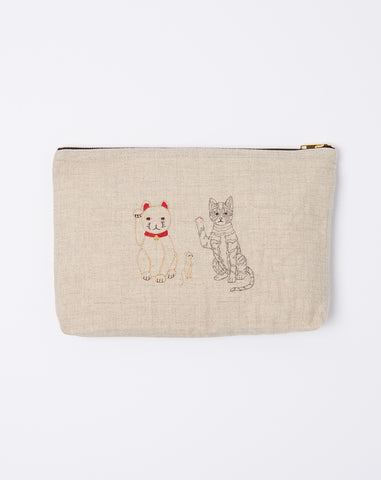 Lucky Cats Pouch