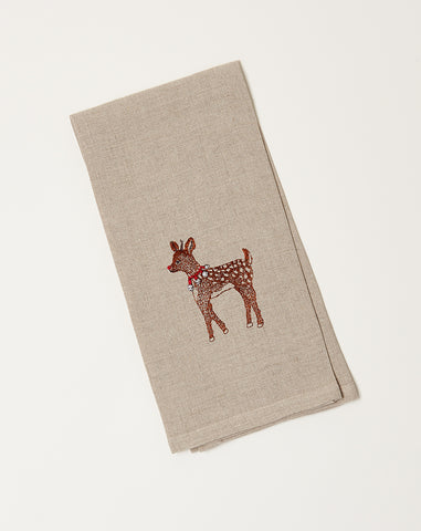 Rudolph Tea Towel