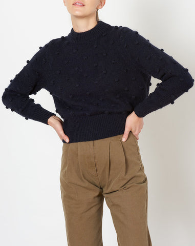 Aadya Sweater in Navy