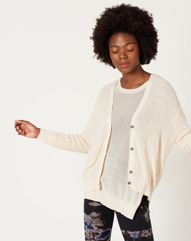 Amelida Cardigan in Linen