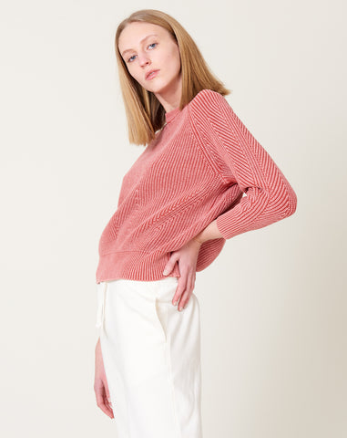 Chelsea Sweater in Red Lily