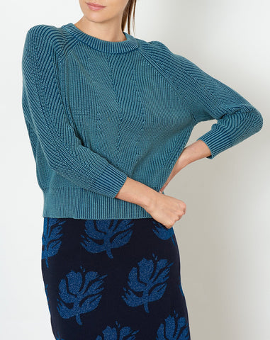 Chelsea Sweater in Dark Teal