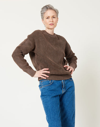Constancia Sweater in Chocolate