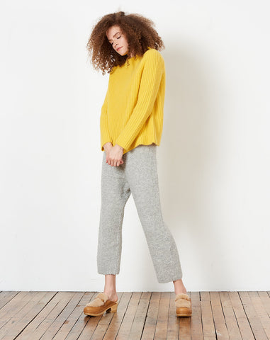 Daphne Sweater in Sun Yellow