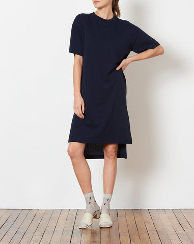 Erika Dress in Navy