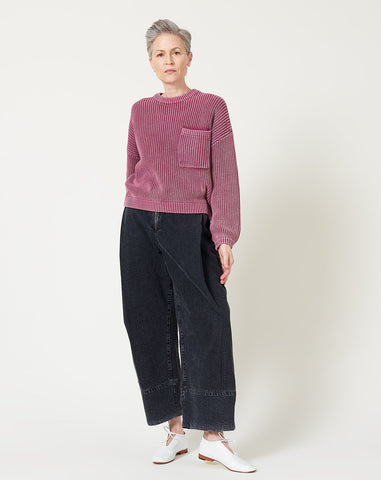 Grant Sweater in Berry