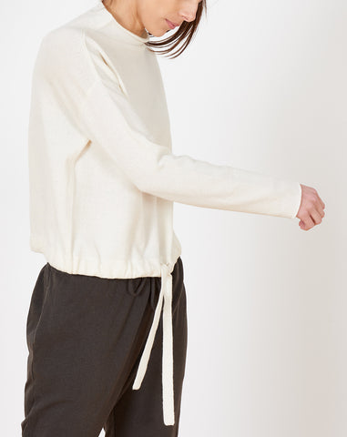 Karen Sweater in White