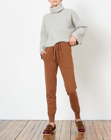 Nancy Pant in Chestnut
