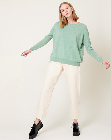 Nolie Sweater in Celadon