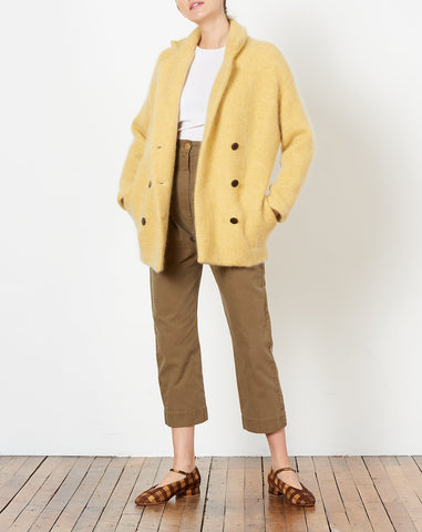 Parton Coat in Canary